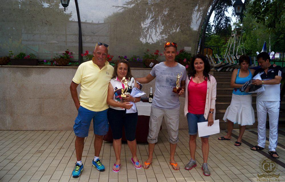 Двойки мъже 1ро място: Иван Йовчев и Пламен Димитров